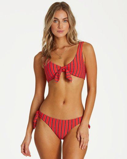 2 Hot For Now Lowrider Bikini Bottom Red XB09VBHO Billabong