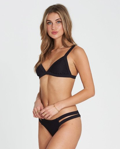 1 Tanlines Isla Bikini Bottom Black XB10PBTA Billabong