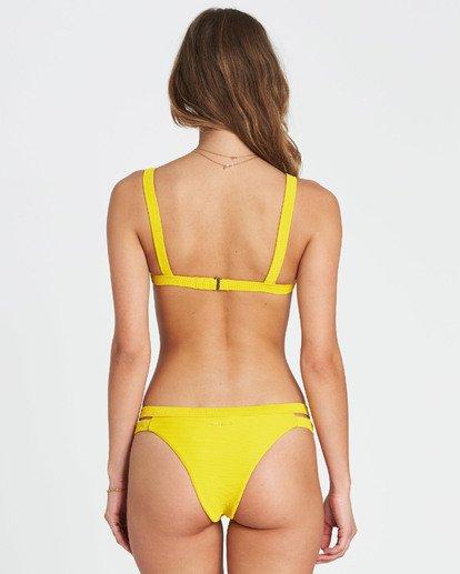 1 Tanlines Isla Bikini Bottom Yellow XB10PBTA Billabong
