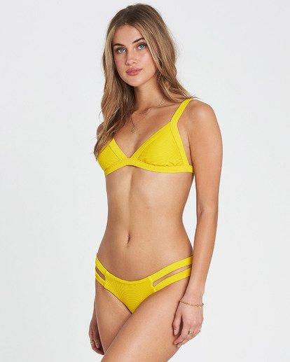 2 Tanlines Isla Bikini Bottom Yellow XB10PBTA Billabong