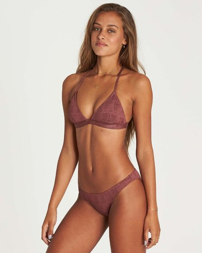 1 Way To Love Tropic Bikini Bottom Purple XB12NBWA Billabong