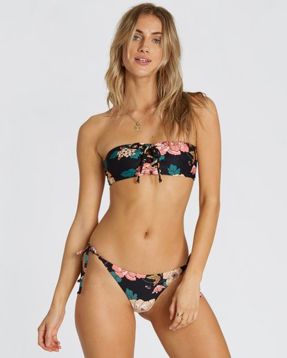 2 Linger On Tie-Side Tanga Bikini Bottom  XB15SBLI Billabong