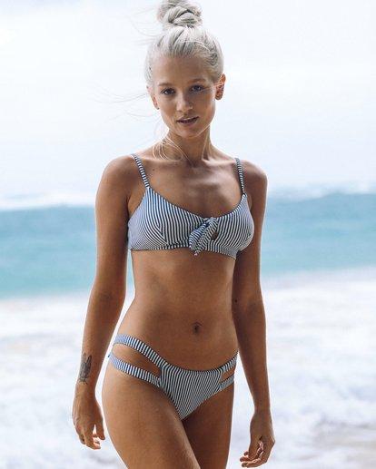 0 Sea Rinse Isla Bikini Bottom Blue XB15TBSE Billabong