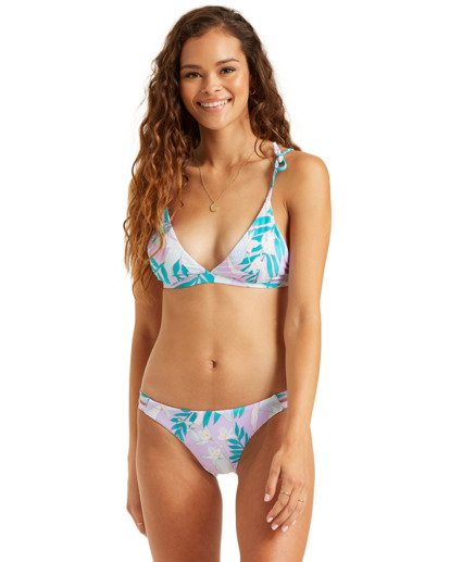 1 Love Palms Lowrider Bikini Bottom Black XB162BLO Billabong