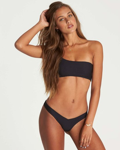 2 Tanlines Hike Bikini Bottom Black XB16NBTA Billabong