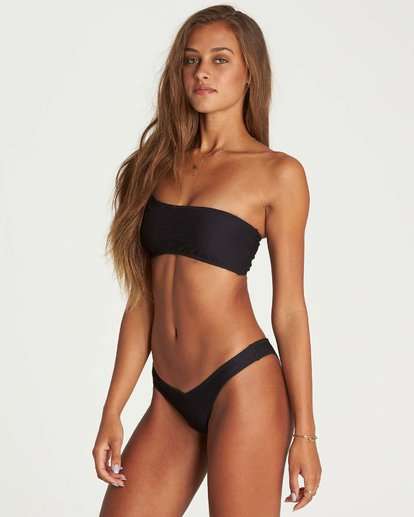 1 Tanlines Hike Bikini Bottom Black XB16NBTA Billabong