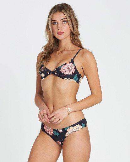 3 Linger On Hawaii Lo Cheeky Bikini Bottom Black XB17SBLI Billabong