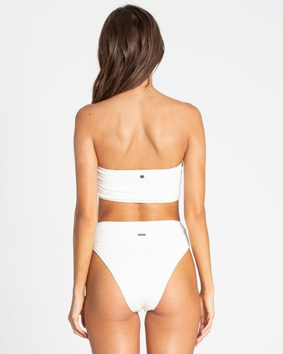1 Sun Rise Pant High-Waisted Bikini Bottom White XB17TBSU Billabong