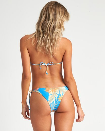 1 Palm Rise Tie Isla Bikini Bottom Blue XB191BPA Billabong