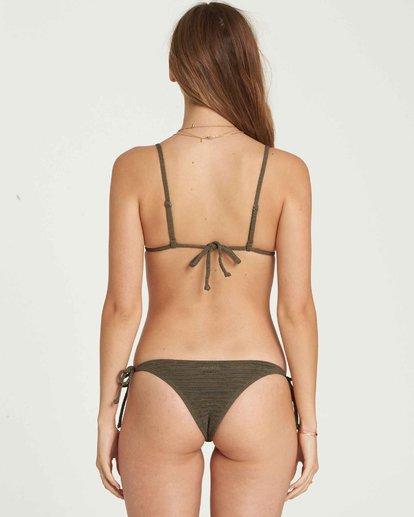 0 No Hurry Tie Isla Bikini Bottom Green XB19QBNO Billabong