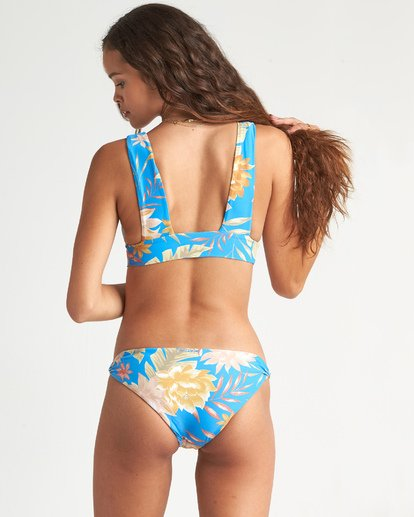 0 Palm Rise Lowrider Bikini Bottom Blue XB211BPA Billabong