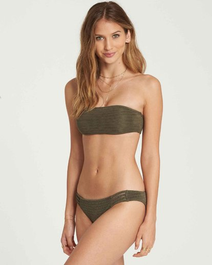 1 No Hurry Tropic Bikini Bottom Green XB21QBNO Billabong