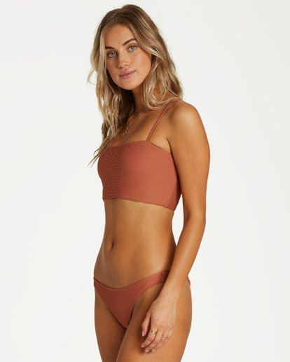 1 Tanlines Tanga Bikini Bottom Brown XB23VBTA Billabong