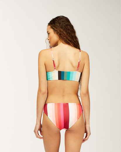 1 Sol Stripes Reversible Lowrider Bikini Bottom  XB252BSC Billabong