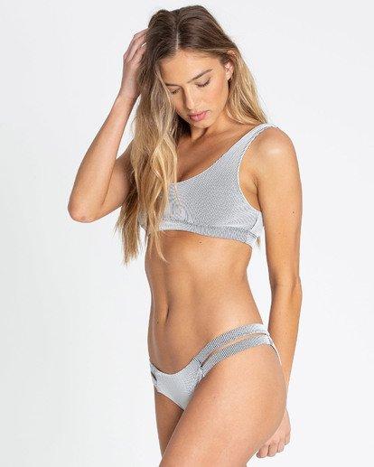 1 New Tide Isla Bikini Bottom Grey XB26TBNE Billabong