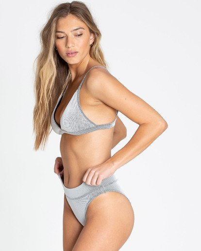1 New Tide Maui Rider Bikini Bottom Grey XB27TBNE Billabong