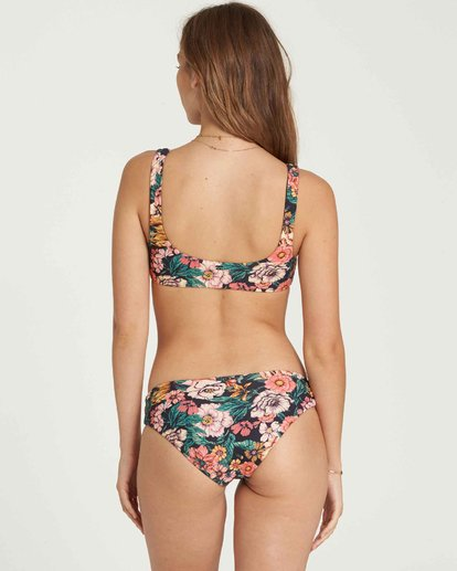 0 Grow Wild Lowrider Bikini Bottom Black XB28QBGR Billabong