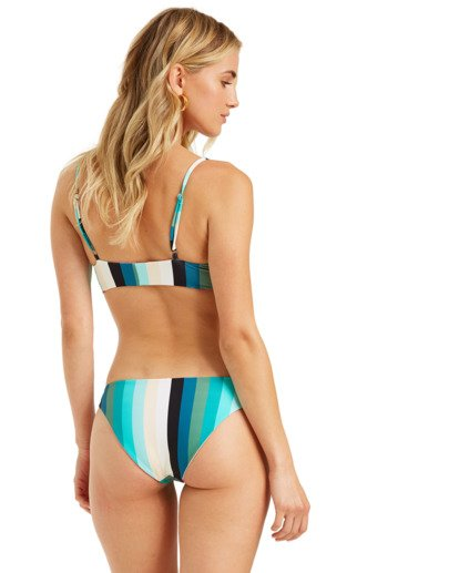 2 Sol Stripes Reversible Tropic Bikini Bottom  XB322BSO Billabong