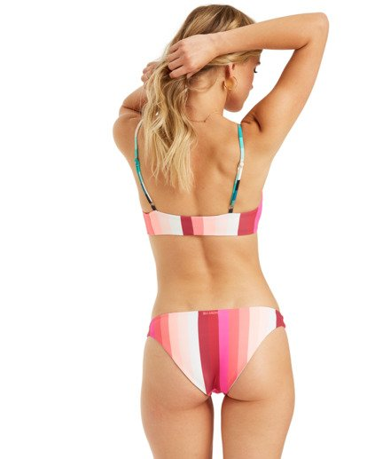 3 Sol Stripes Reversible Tropic Bikini Bottom Grey XB322BSO Billabong