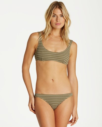 2 Summer High Hawaii Lo Bikini Bottom Green XB32VBSU Billabong