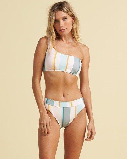 3 Salty Blonde Feelin Salty Maui Rider Bikini Bottom Grey XB333BFE Billabong