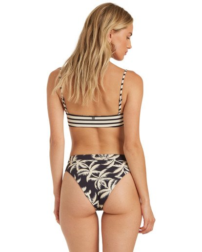 2 Palm Side Reversible Maui Bikini Bottom Grey XB342BPA Billabong