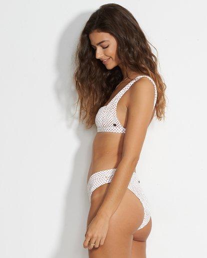 2 Candy Maui Rider Bikini Bottom White XB35VBCA Billabong