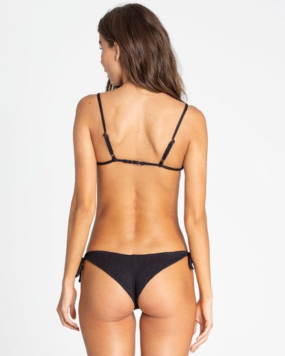 0 Sweet Sands Tanga Tie-Side Bikini Bottom Black XB36TBSW Billabong