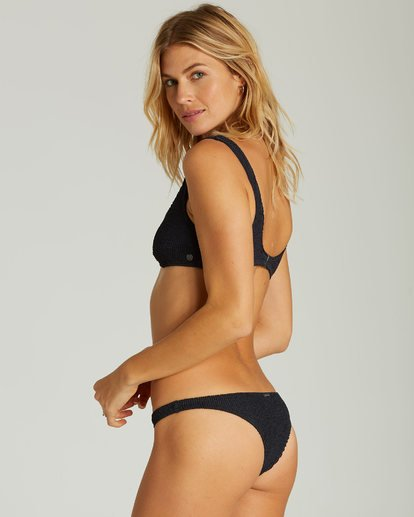 1 Summer High Isla Bikini Bottom Black XB40QBSU Billabong