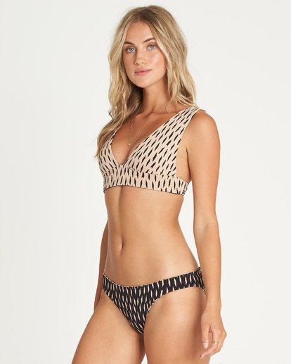 1 Look Farther Lowrider Reversible Bikini Bottom Grey XB40UBLO Billabong