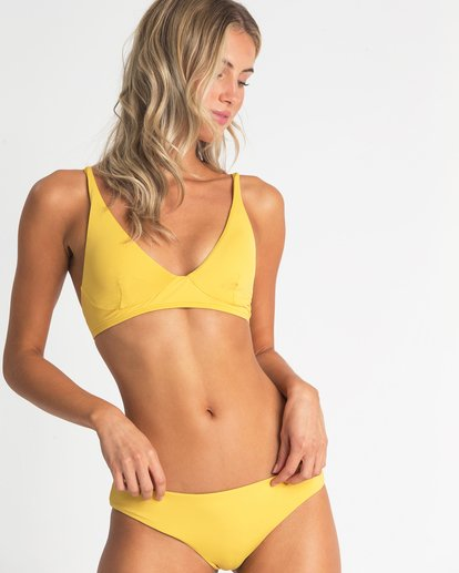 2 High On Sun Hawaii Lo Bikini Bottom Yellow XB49UBHI Billabong