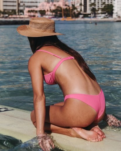 0 Sol Searcher Tanga Bikini Bottom Pink XB52JSOL Billabong