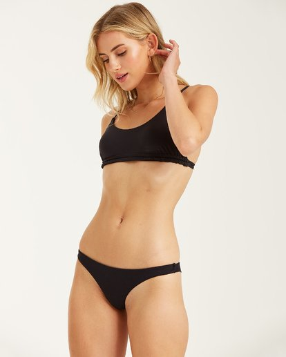 1 Sol Searcher Tanga Bikini Bottom Black XB52JSOL Billabong