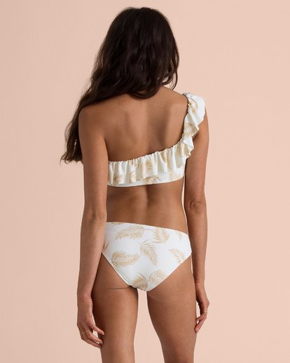 0 Sincerely Jules Dos Palmas Lowrider Bikini Bottom White XB53TBDO Billabong