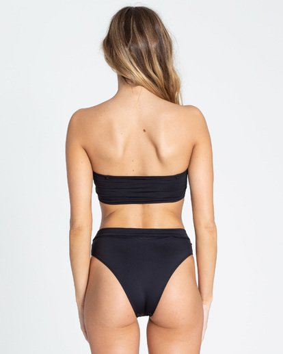 3 Sol Searcher Rise High-Waisted Bikini Bottom Black XB563BSE Billabong