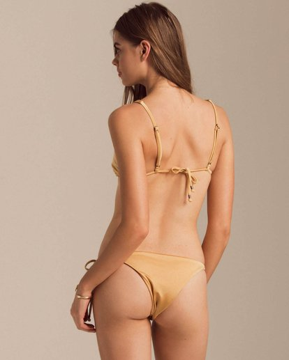 0 Gold Struck Skimpy Bikini Bottom Yellow XB62PBGO Billabong