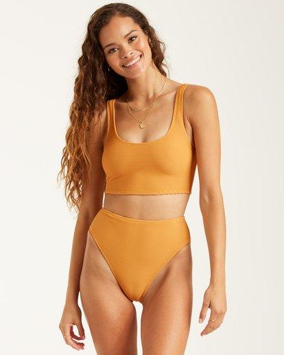 3 Sunbound Rise Pant Bikini Bottom White XB632BSU Billabong