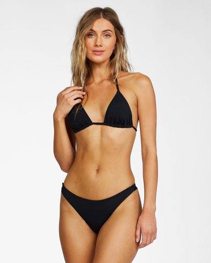 2 Sol Searcher Tanga Bikini Bottom Black XB662BSO Billabong