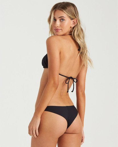 3 Sol Searcher Tanga Bikini Bottom Black XB662BSO Billabong