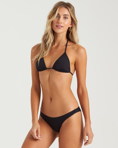 6 Sol Searcher Tanga Bikini Bottom Black XB662BSO Billabong