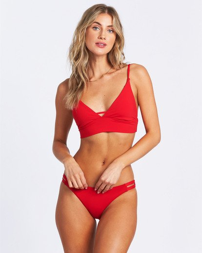 2 Sol Searcher Lowrider Bikini Bottom Red XB692BSO Billabong