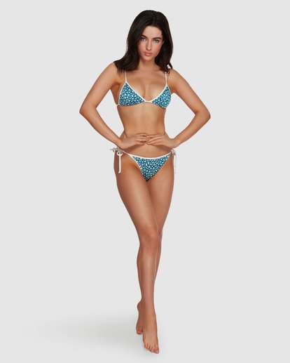 5 Florida Skinny Biarritz Bikini Bottoms Blue XB70VBFL Billabong