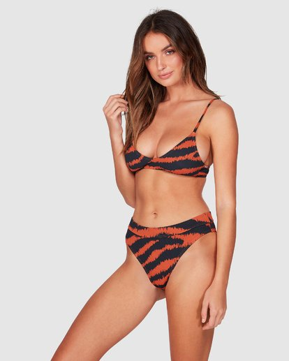 2 Tigress Maui Rider Bikini Bottom Black XB72WBTI Billabong