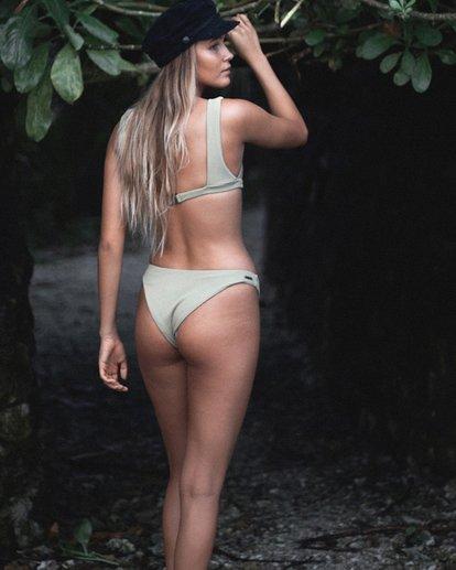 0 Sand Dunes Hike Bikini Bottoms Green XB73VBSA Billabong
