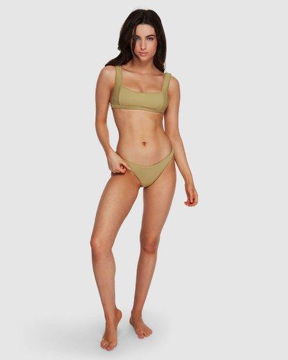 5 Sand Dunes Hike Bikini Bottoms Green XB73VBSA Billabong