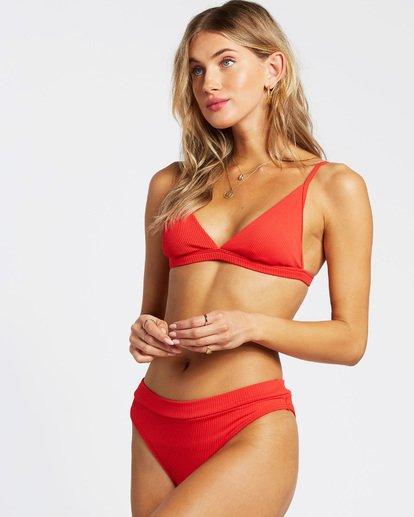 2 For The Love Of Maui Bikini Bottom Red XB751BFO Billabong