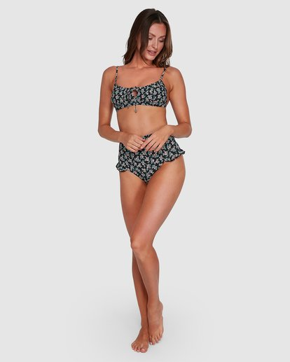 6 Bloom Retro Bikini Bottom Black XB813BBL Billabong