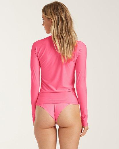 2 Sol Searcher Long Sleeve Rashguard Pink XR062BSO Billabong