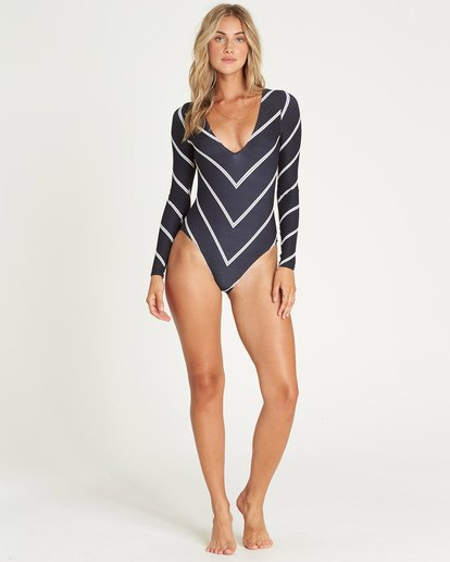 3 Night Tide Bodysuit Rashguard  XR06UBNI Billabong