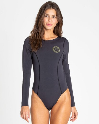 5 Surfed Out Bodysuit Black XR11TBDE Billabong